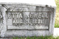 Etta <i>Foster</i> Newell