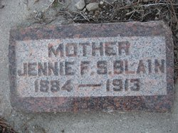 Jennie Florence <i>Sandberg</i> Blain