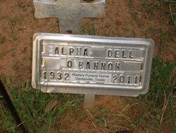 Alpha Dell <i>Tubb</i> O'Bannon