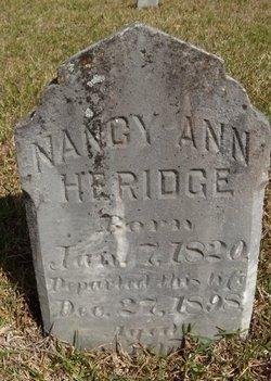 Nancy Ann <i>Hughes</i> Herridge
