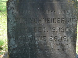 Simon Conrad Schneider, Jr