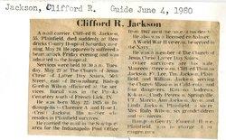 Clifford Robert Jackson