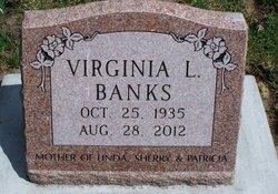 Virginia Lou <i>Pruett</i> Banks