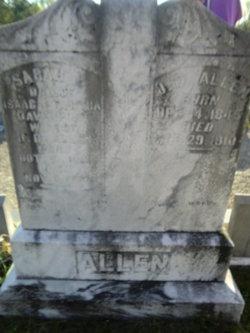 Sarah E <i>Davenport</i> Allen