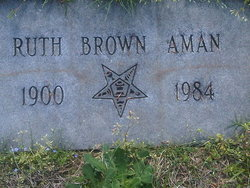 L Ruth <i>Brown</i> Aman