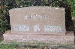 Beulah E <i>Hazelrigg</i> Brown