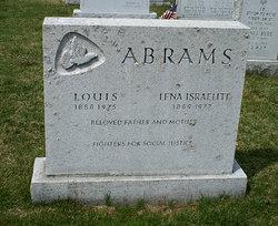 Lena <i>Israelite</i> Abrams