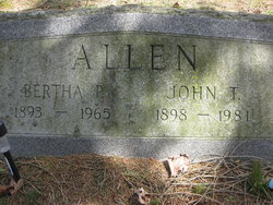 Bertha <i>Palmer</i> Allen