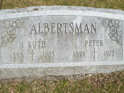 Mary Ruth <i>Steele</i> Albertsman