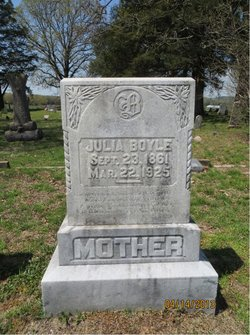 Mary Susan Julia <i>Hugg</i> Boyle