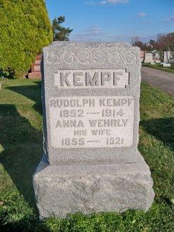 Anna <i>Wehrly</i> Kempf
