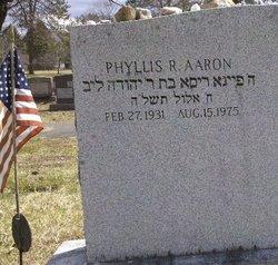 Phyllis R Aaron