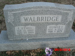 Homer E Walbridge
