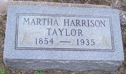 Martha <i>Harrison</i> Taylor