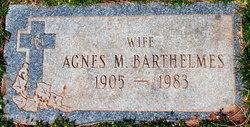 Agnes M. <i>Whalen</i> Barthelmes