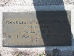 Charles W Anderson, Jr