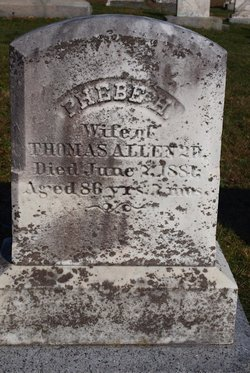 Phebe Smith <i>Howland</i> Allen