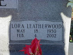 Lora <i>Leatherwood</i> Brendle