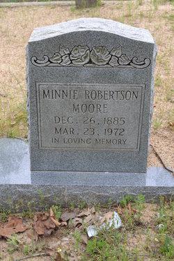 Minnie <i>Robertson</i> Moore