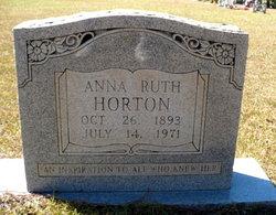 Anna Ruth <i>Perritt</i> Horton