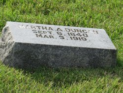 Martha A. <i>Raye</i> Duncan