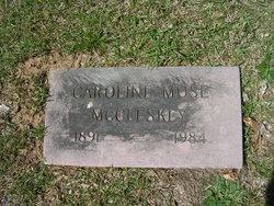 Caroline <i>Muse</i> McCleskey