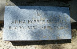 Anna Lorena <i>Hopper</i> Bevans