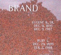 Ruby Lillian <i>Tidwell</i> Brand