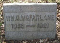 William G McFarlane