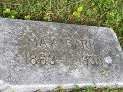 Max Barr