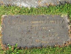 Estelle <i>Horwitz</i> Erlick