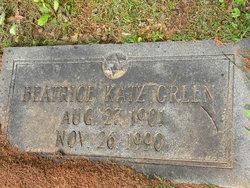 Beatrice <i>Katz</i> Green