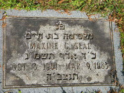 Maxine G. Seal