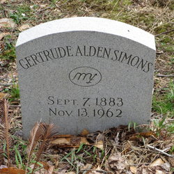 Gertrude Alden <i>Simons</i> Cooper