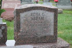 Retha Ellen <i>Hendricks</i> Abram