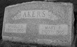 Mary Phoebe <i>McDaniels</i> Akers
