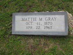 Mattie Maria <i>Culbertson</i> Gray