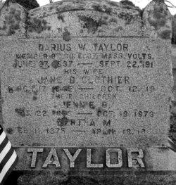 Darius W Taylor