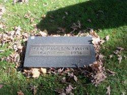 Isaac Hamilton Taylor