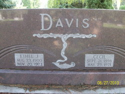 Ethel <i>Johnston</i> Davis