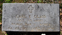 Sgt Carl E. Glass