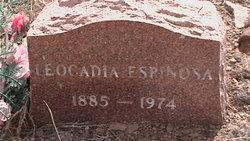Leocadia Espinosa
