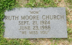 Ruth <i>Moore</i> Church