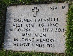 Chalmer Hayward Adams, III