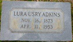 Lura <i>Usry</i> Adkins