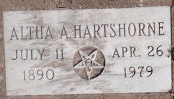 Altha A Hartshorne