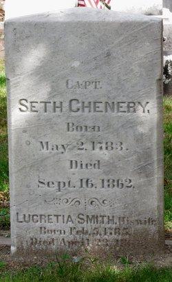 Lucretia <i>Smith</i> Chenery