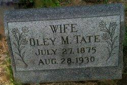 Oley M. Tate