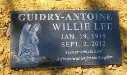 Willie Lee <i>Guidry</i> Antoine