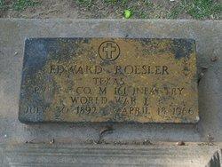 Eduard Ed Roesler, Jr